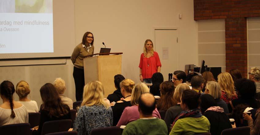 Föredrag mindfulness och meditation på arbetsplatsen