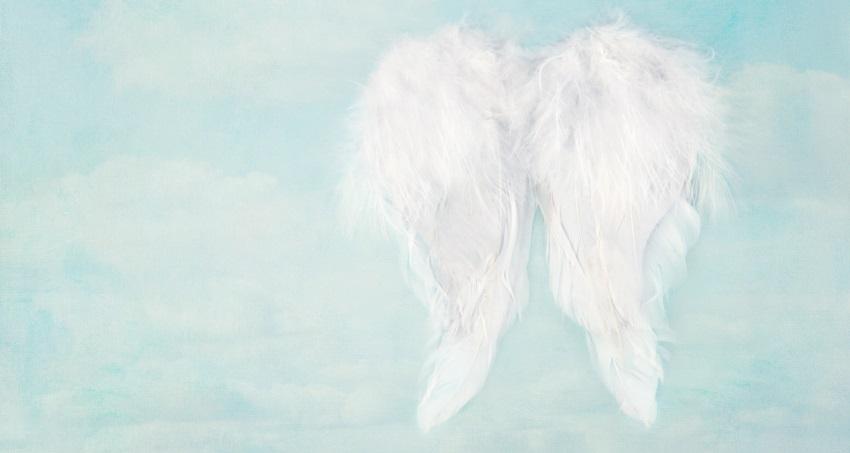 Kysst av en ängel