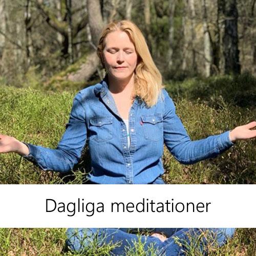 Guidade meditationer, Carina Ovesson