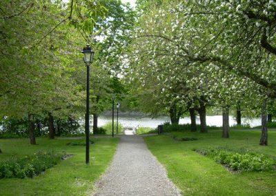 Promenad till sjön