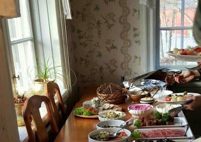 Maten på Farsta gård